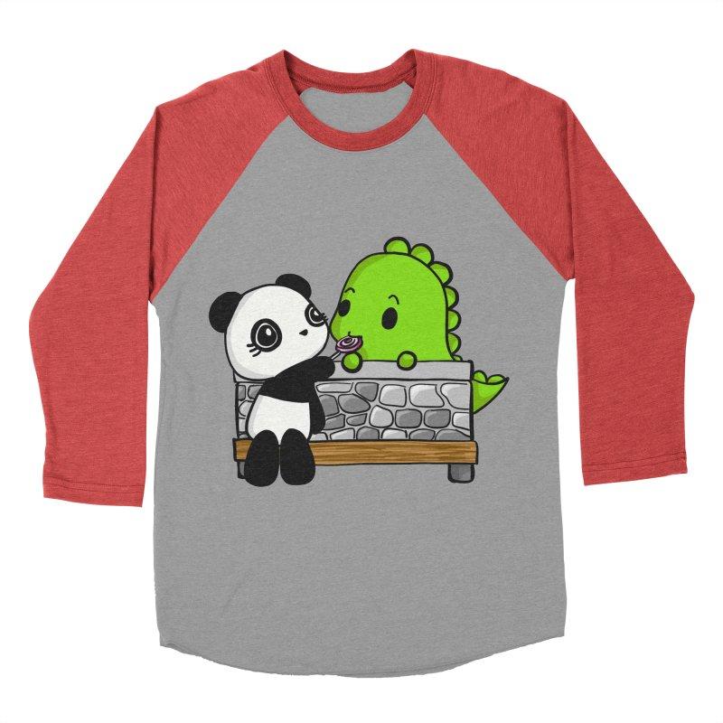 Sharing is Caring Women's Baseball Triblend T-Shirt by Dino & Panda Inc Artist Shop