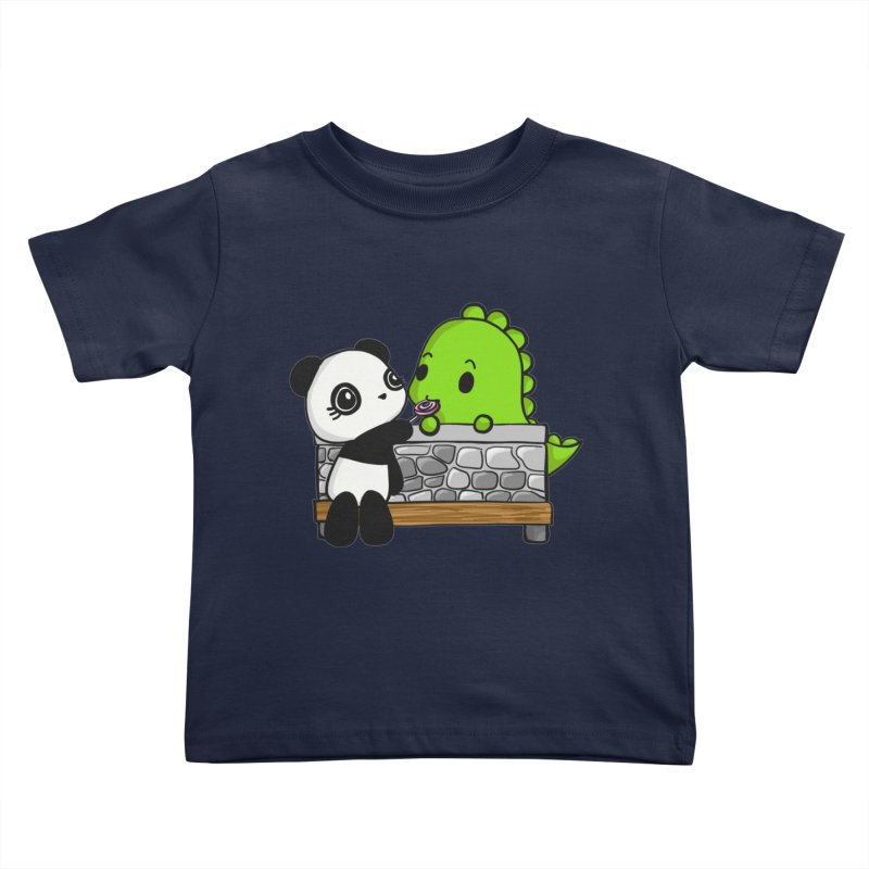 Sharing is Caring Kids Toddler T-Shirt by Dino & Panda Inc Artist Shop