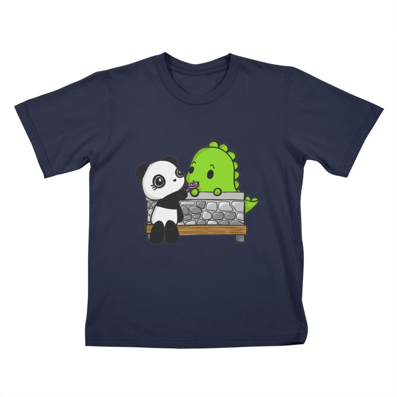 Sharing is Caring Kids Toddler T-Shirt by Dino & Panda Inc Artist Shop