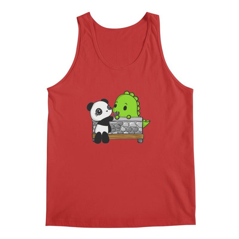 Sharing is Caring Men's Regular Tank by Dino & Panda Inc Artist Shop