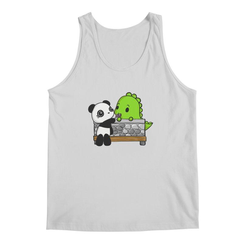Sharing is Caring Men's Tank by Dino & Panda Inc Artist Shop