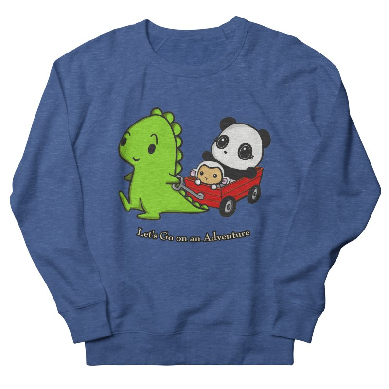 Wagon Ride Men's Sweatshirt by Dino & Panda Inc Artist Shop