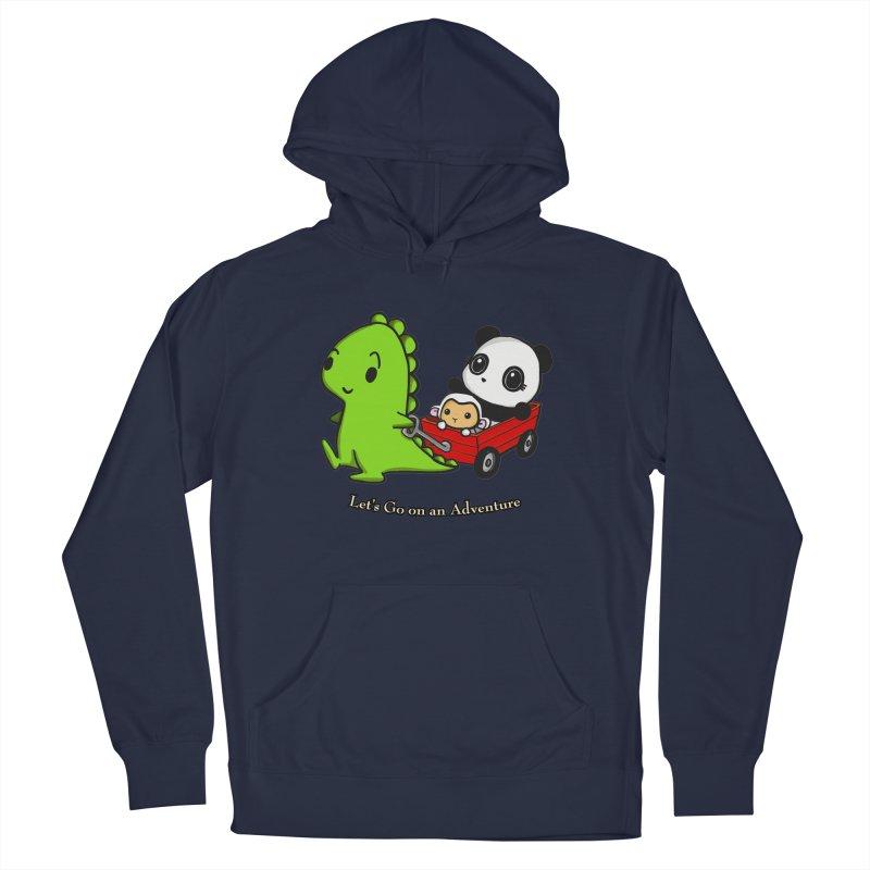 Wagon Ride Men's Pullover Hoody by Dino & Panda Inc Artist Shop