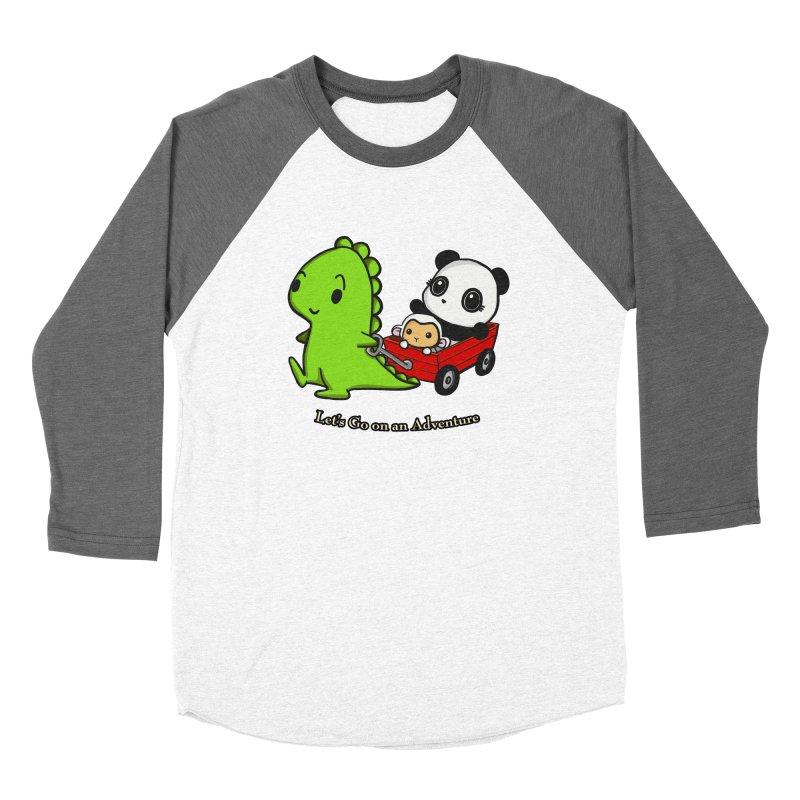 Wagon Ride Women's Longsleeve T-Shirt by Dino & Panda Artist Shop