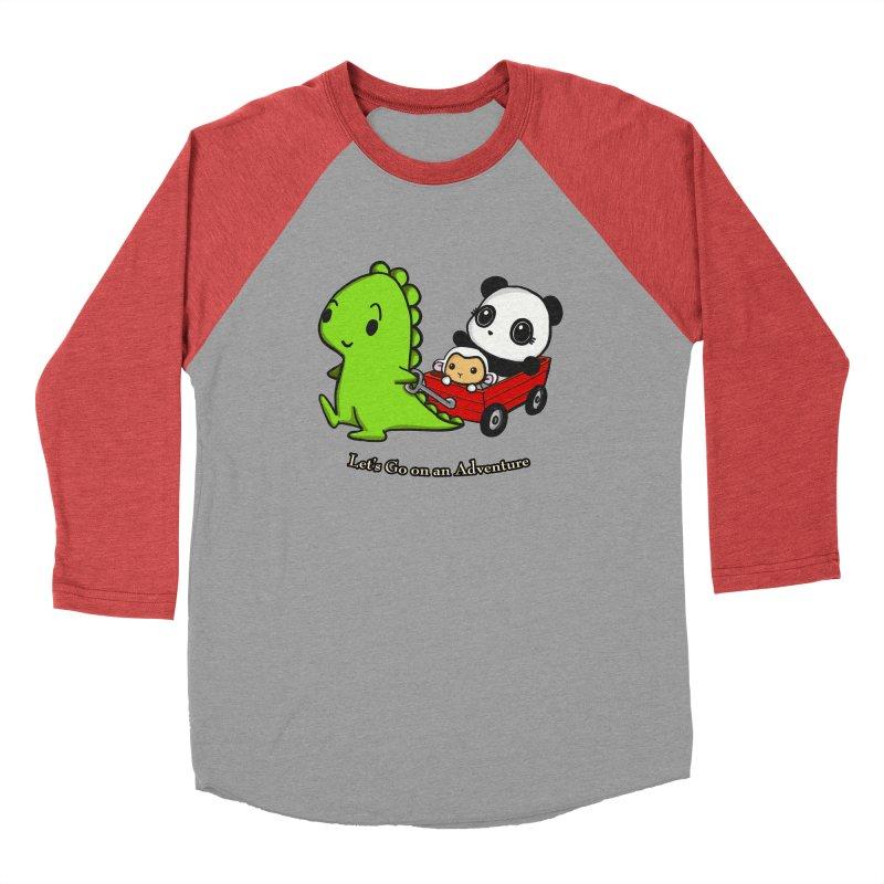Wagon Ride Men's Longsleeve T-Shirt by Dino & Panda Artist Shop