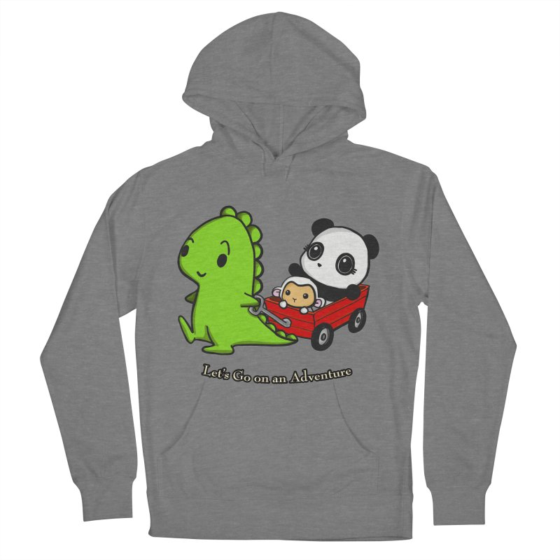 Wagon Ride Women's Pullover Hoody by Dino & Panda Inc Artist Shop