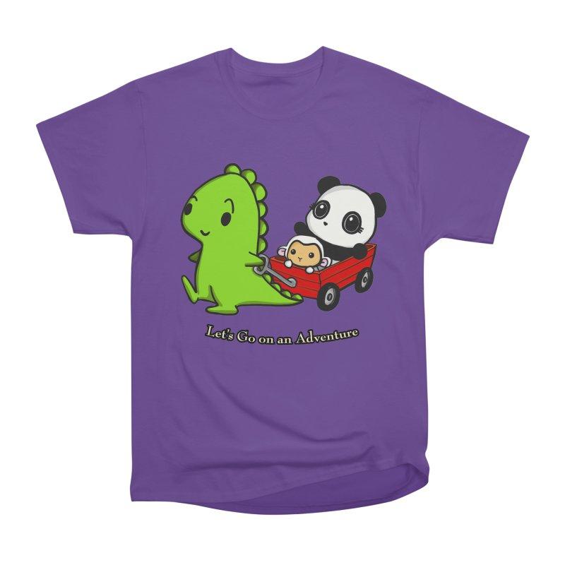 Wagon Ride Women's Classic Unisex T-Shirt by Dino & Panda Inc Artist Shop