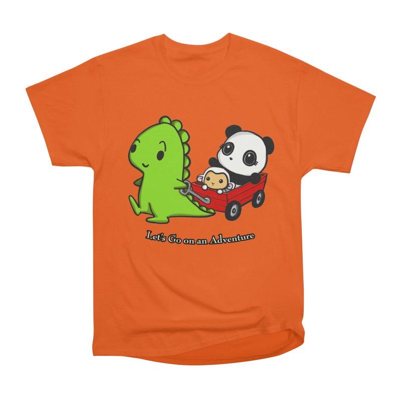 Wagon Ride Men's Classic T-Shirt by Dino & Panda Inc Artist Shop