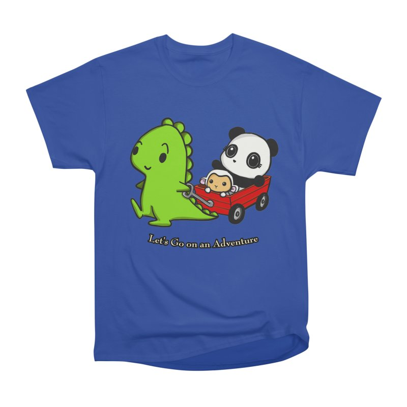 Wagon Ride Men's Classic T-Shirt by Dino & Panda Inc Artist Shop