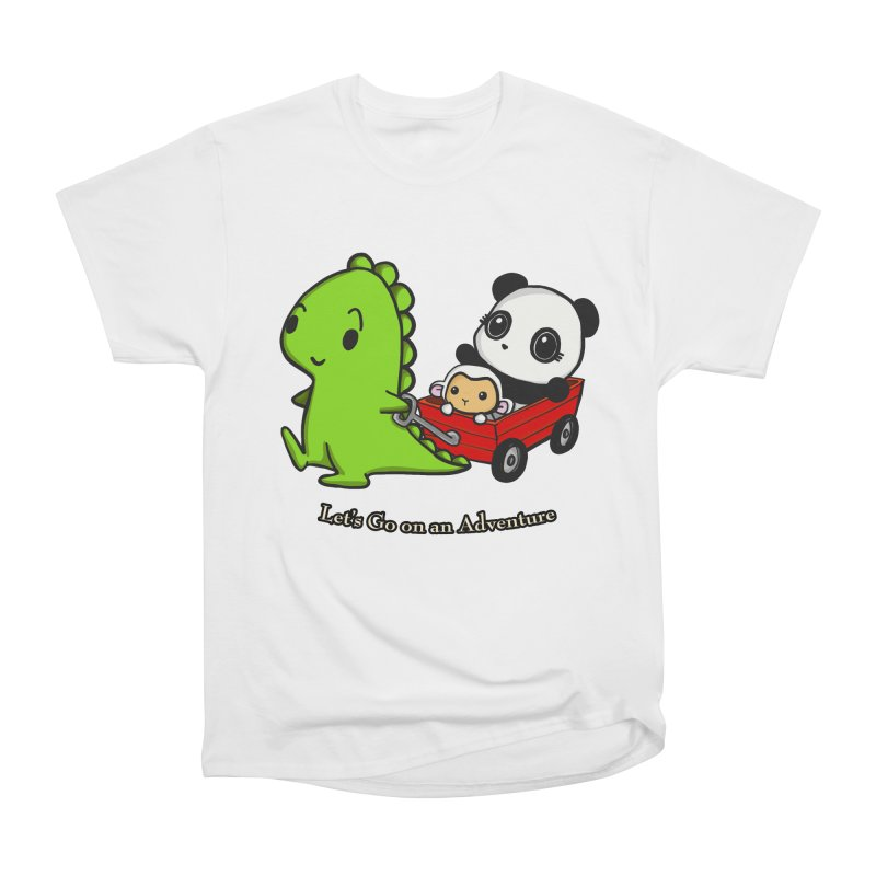 Wagon Ride Women's Classic Unisex T-Shirt by Dino & Panda Inc Artist Shop