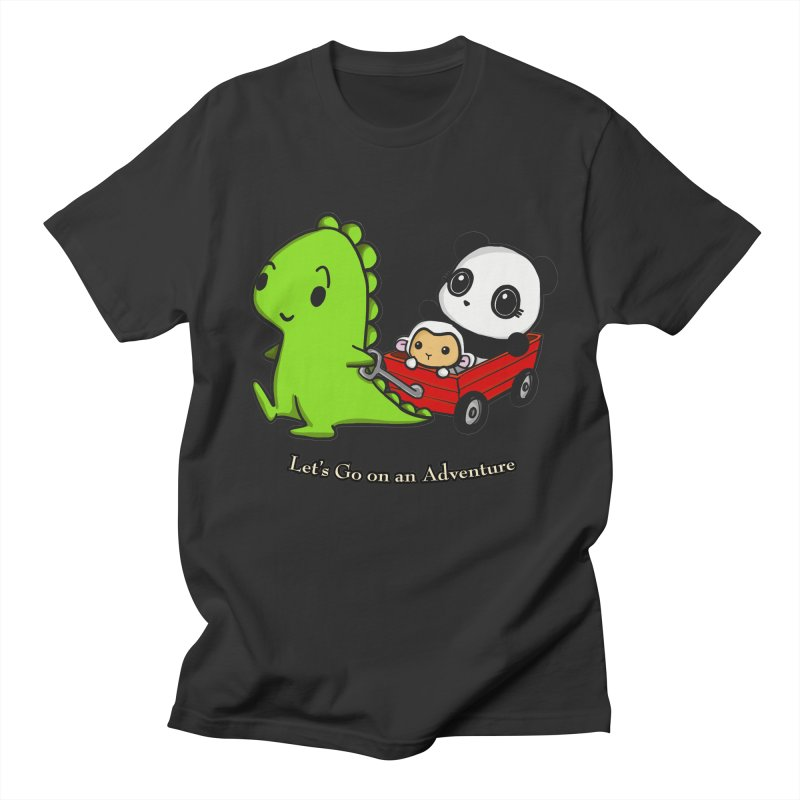 Wagon Ride Women's T-Shirt by Dino & Panda Artist Shop