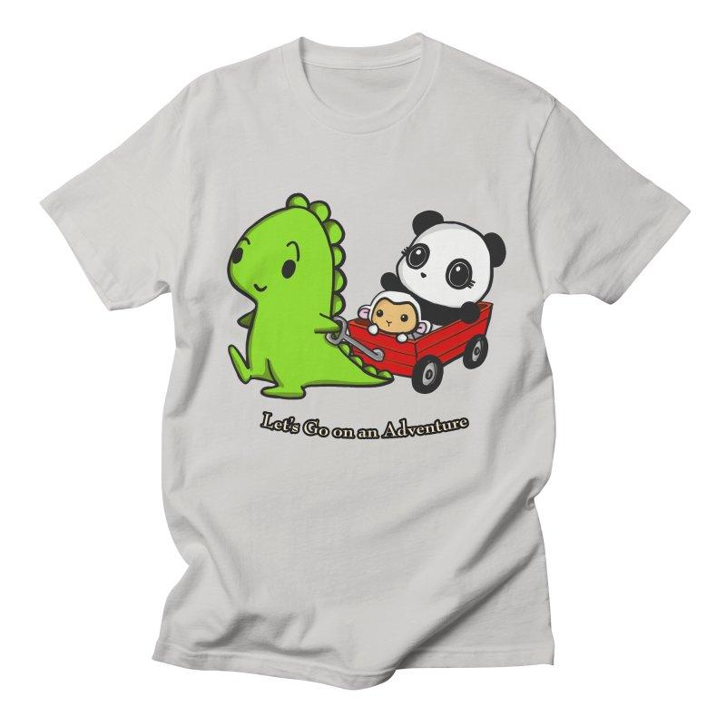 Wagon Ride Women's Regular Unisex T-Shirt by Dino & Panda Inc Artist Shop