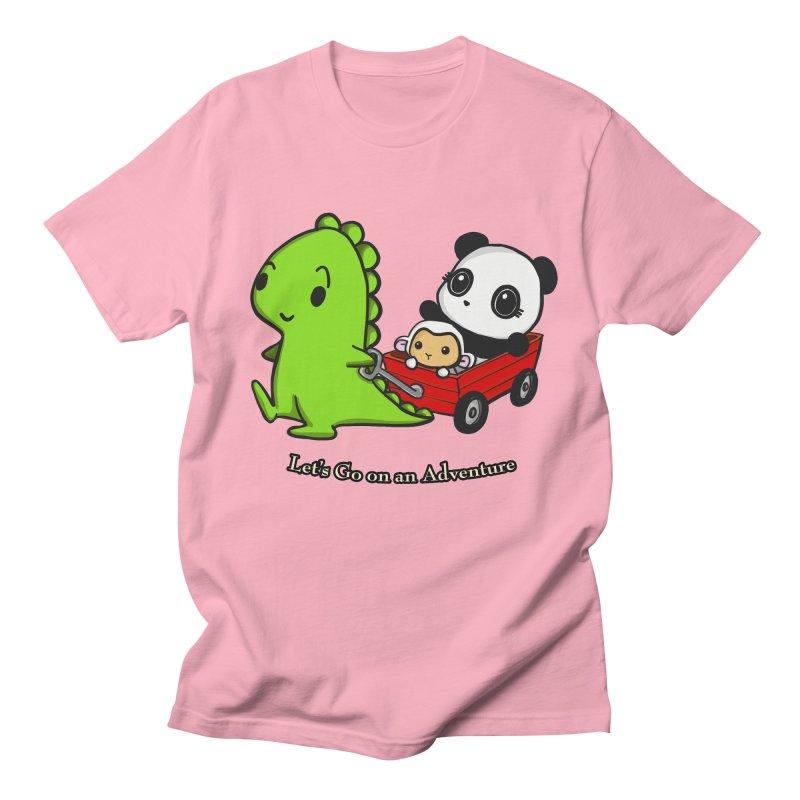Wagon Ride Women's Unisex T-Shirt by Dino & Panda Inc Artist Shop