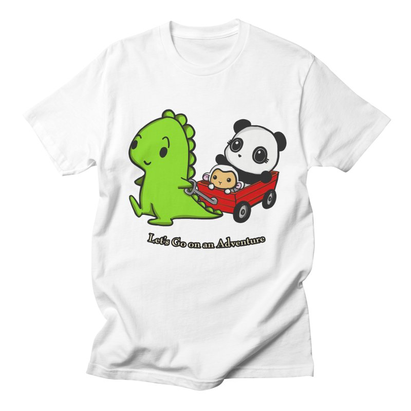 Wagon Ride Women's T-Shirt by Dino & Panda Inc Artist Shop