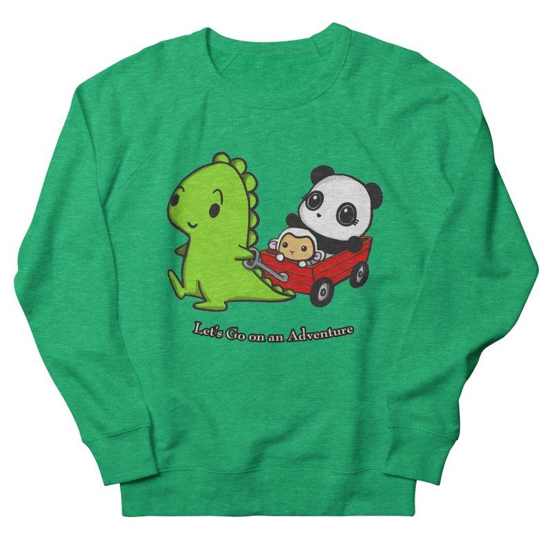 Wagon Ride Women's Sweatshirt by Dino & Panda Inc Artist Shop