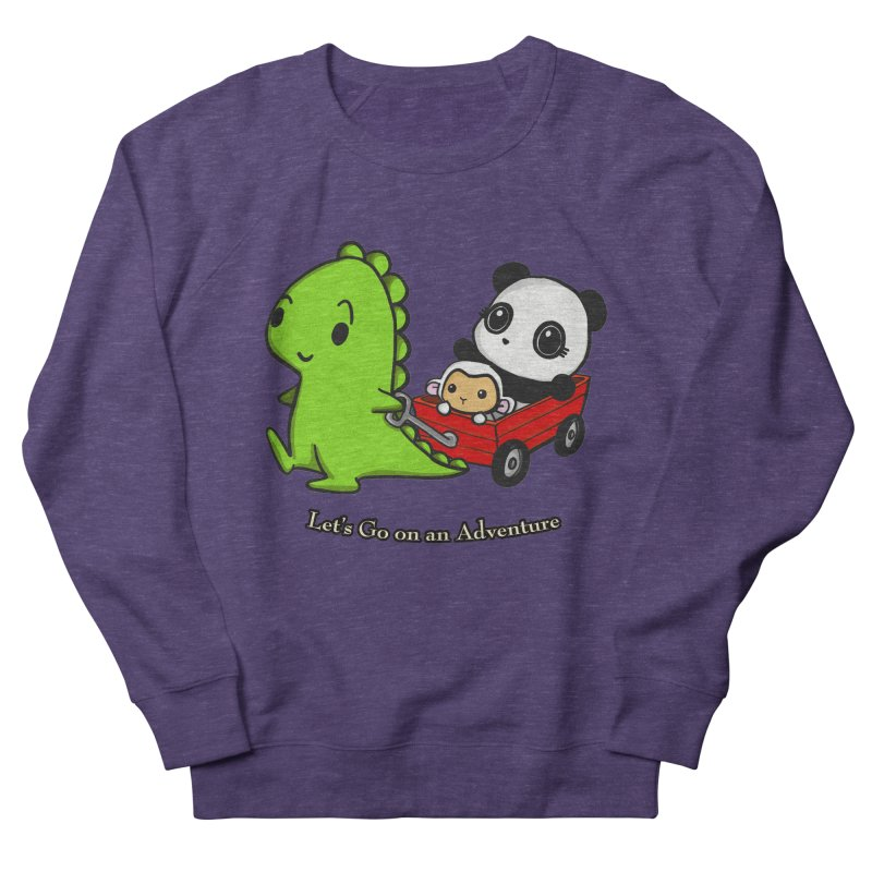 Wagon Ride Women's Sweatshirt by Dino & Panda Inc Artist Shop