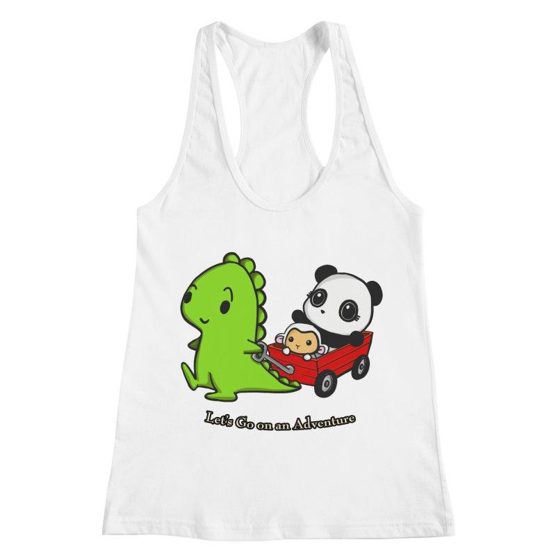 Wagon Ride Women's Tank by Dino & Panda Inc Artist Shop