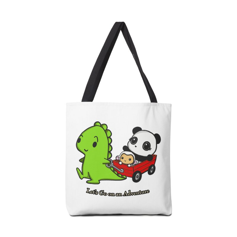 Wagon Ride Accessories Bag by Dino & Panda Inc Artist Shop