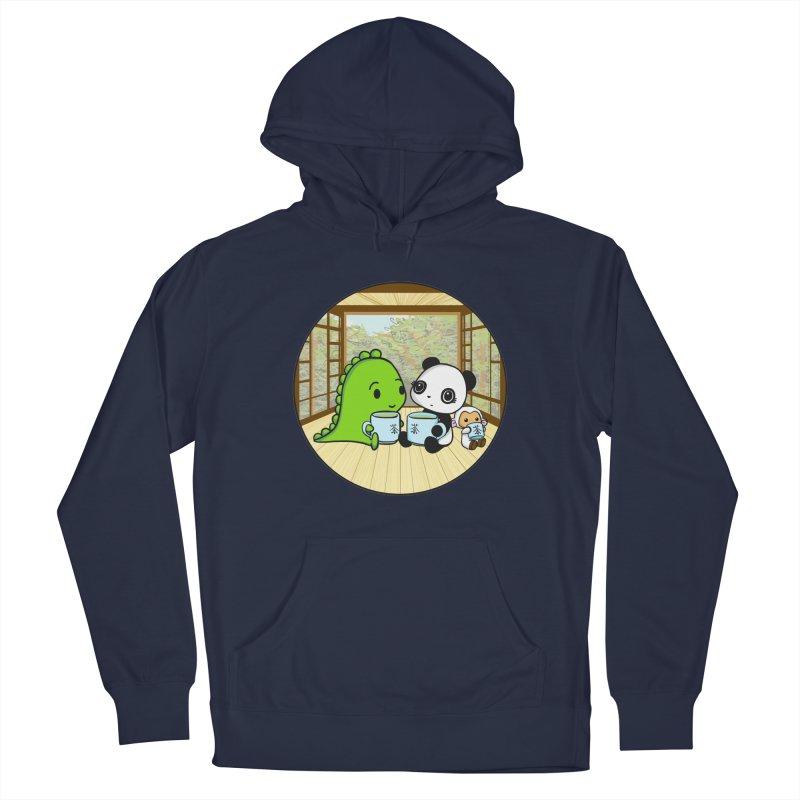 Japanese Tea House Men's Pullover Hoody by Dino & Panda Inc Artist Shop