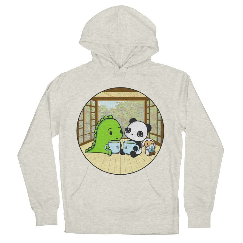 Japanese Tea House Women's Pullover Hoody by Dino & Panda Inc Artist Shop