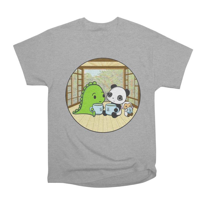 Japanese Tea House Women's Classic Unisex T-Shirt by Dino & Panda Inc Artist Shop
