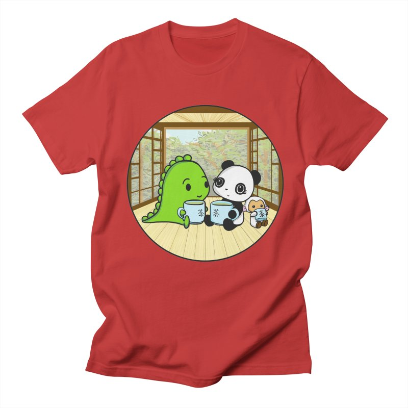 Japanese Tea House Women's Unisex T-Shirt by Dino & Panda Inc Artist Shop