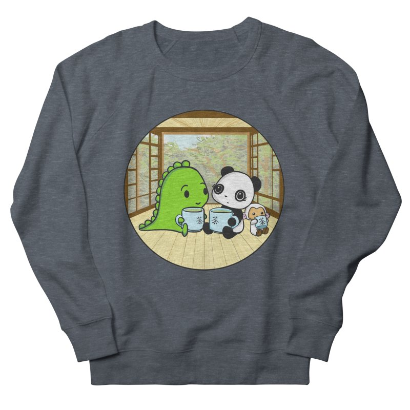 Japanese Tea House Women's Sweatshirt by Dino & Panda Inc Artist Shop