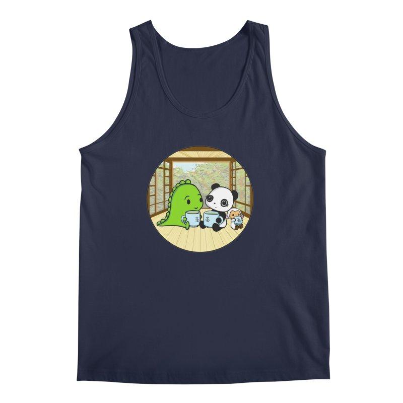 Japanese Tea House Men's Regular Tank by Dino & Panda Inc Artist Shop