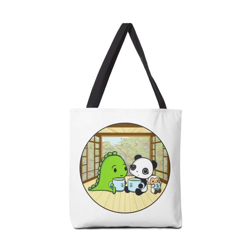 Japanese Tea House Accessories Bag by Dino & Panda Inc Artist Shop