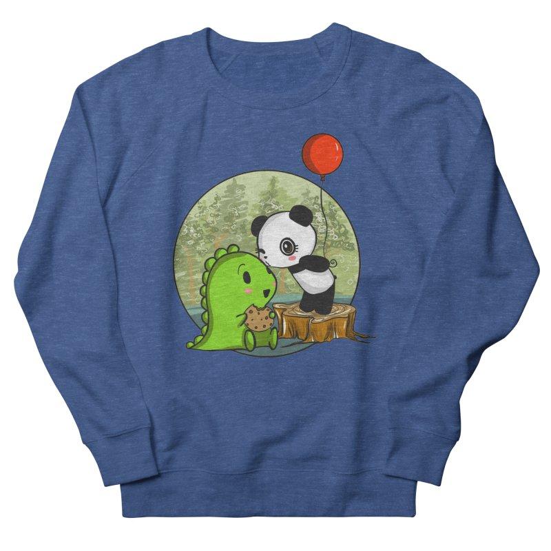 Cookies and Kisses Men's Sweatshirt by Dino & Panda Inc Artist Shop