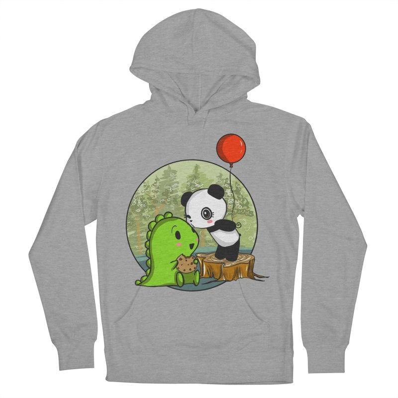 Cookies and Kisses Women's French Terry Pullover Hoody by Dino & Panda Inc Artist Shop