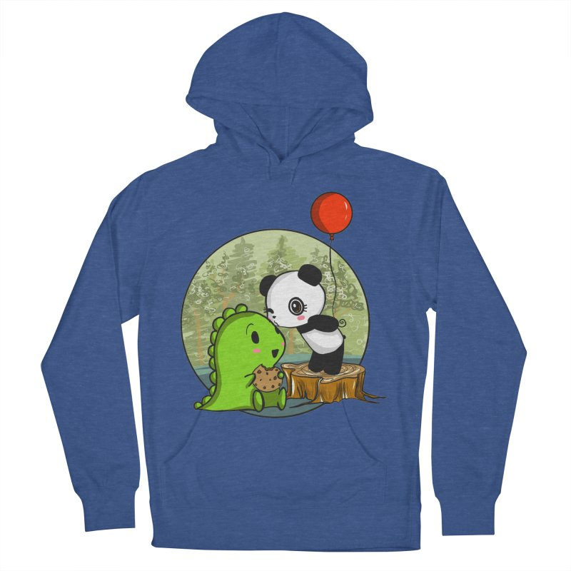 Cookies and Kisses Men's Pullover Hoody by Dino & Panda Inc Artist Shop