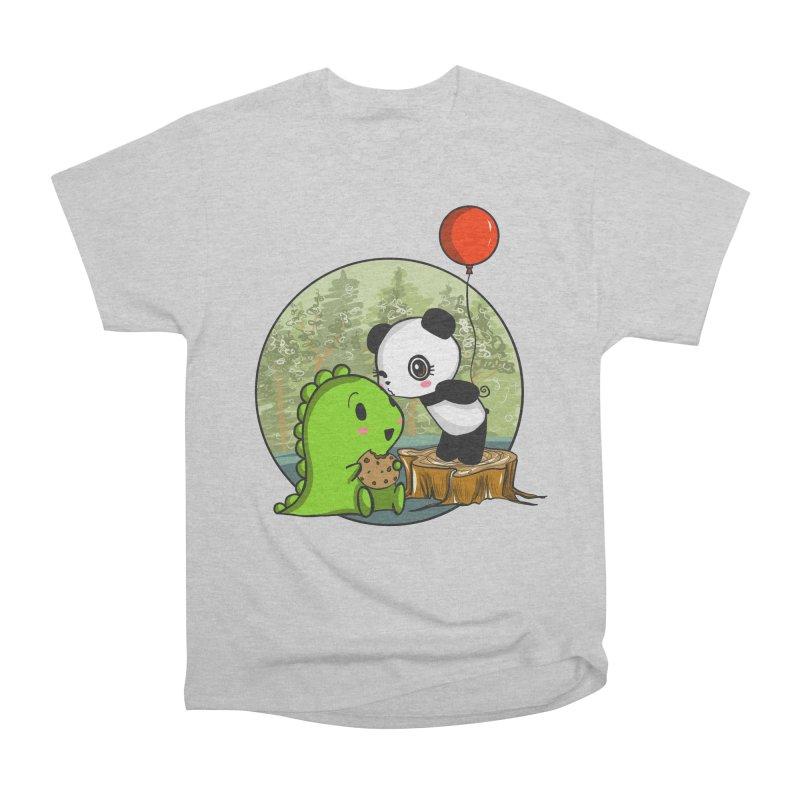 Cookies and Kisses Women's Classic Unisex T-Shirt by Dino & Panda Inc Artist Shop