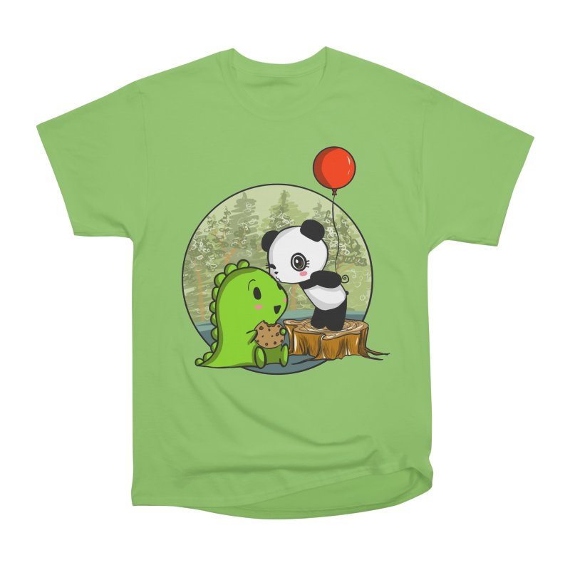 Cookies and Kisses Women's Heavyweight Unisex T-Shirt by Dino & Panda Inc Artist Shop
