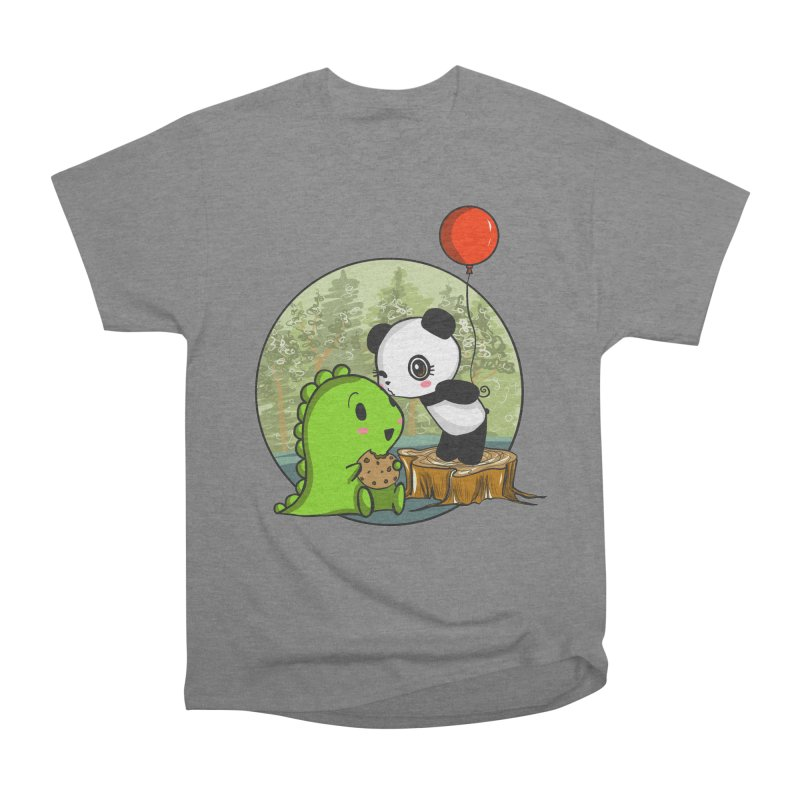 Cookies and Kisses Women's Heavyweight Unisex T-Shirt by Dino & Panda Inc Artist Shop