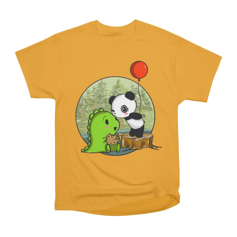 Cookies and Kisses Men's Heavyweight T-Shirt by Dino & Panda Inc Artist Shop