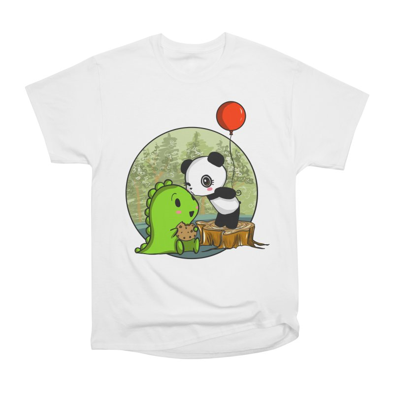 Cookies and Kisses Women's Classic Unisex T-Shirt by Dino & Panda Inc Artist Shop