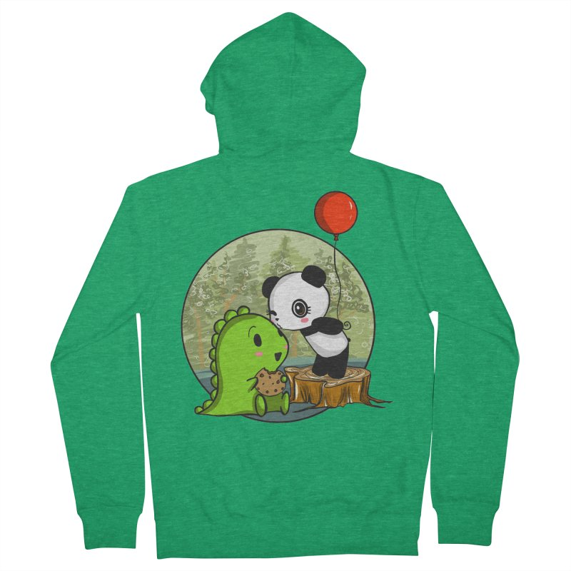 Cookies and Kisses Women's Zip-Up Hoody by Dino & Panda Inc Artist Shop