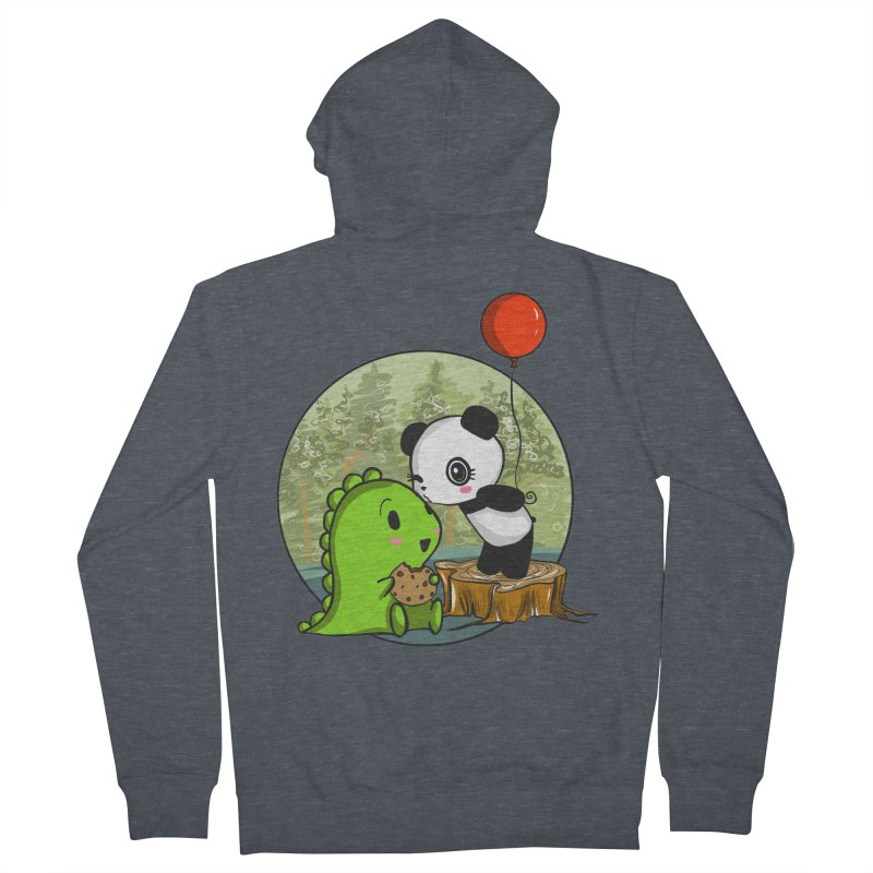 Cookies and Kisses Women's Zip-Up Hoody by Dino & Panda Inc Artist Shop