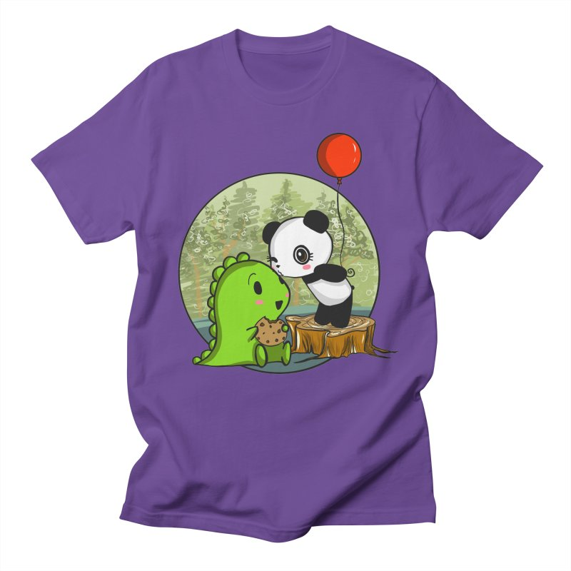 Cookies and Kisses Women's Unisex T-Shirt by Dino & Panda Inc Artist Shop