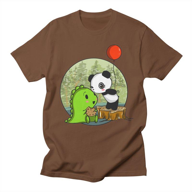 Cookies and Kisses Men's T-shirt by Dino & Panda Inc Artist Shop
