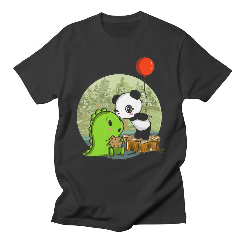 Cookies and Kisses Women's Regular Unisex T-Shirt by Dino & Panda Inc Artist Shop