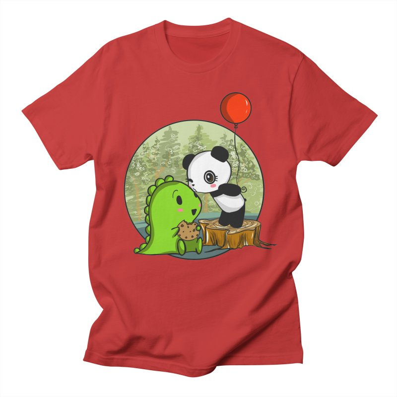 Cookies and Kisses Men's T-Shirt by Dino & Panda Inc Artist Shop