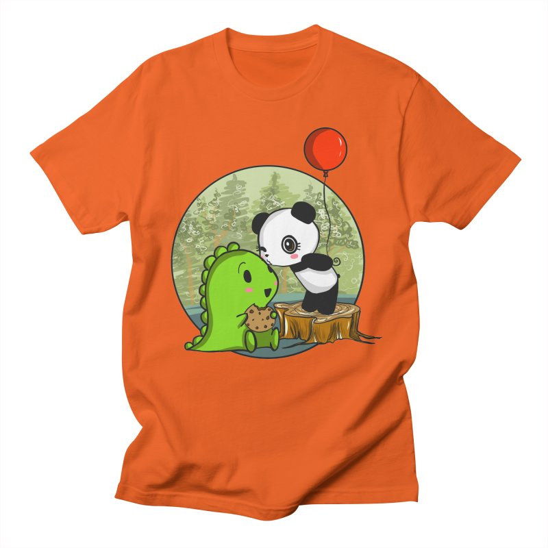 Cookies and Kisses Men's Regular T-Shirt by Dino & Panda Inc Artist Shop