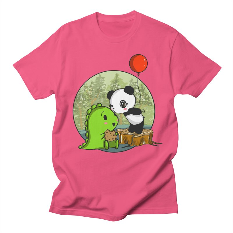 Cookies and Kisses Women's Regular Unisex T-Shirt by Dino & Panda Inc Artist Shop