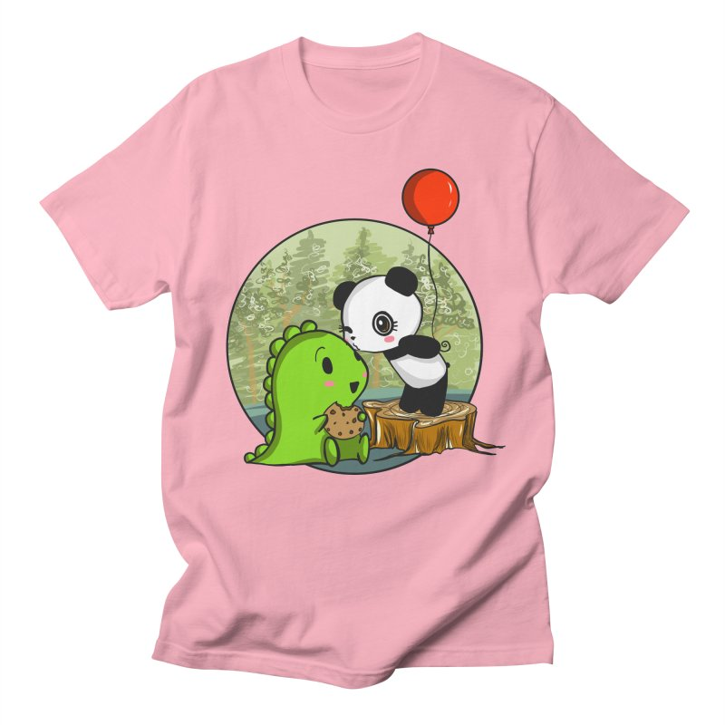 Cookies and Kisses Women's T-Shirt by Dino & Panda Artist Shop