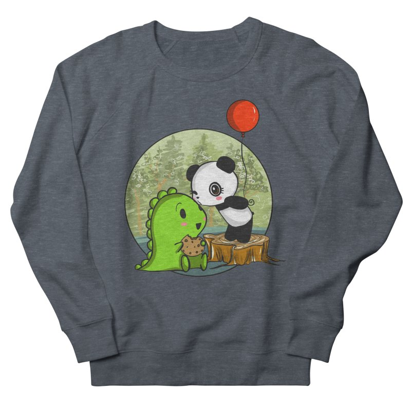 Cookies and Kisses Women's French Terry Sweatshirt by Dino & Panda Inc Artist Shop