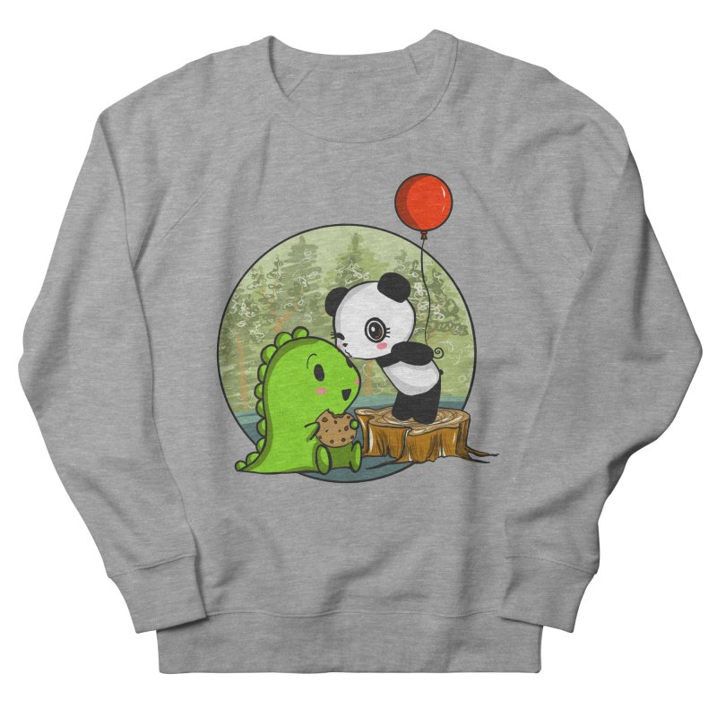 Cookies and Kisses Women's Sweatshirt by Dino & Panda Inc Artist Shop