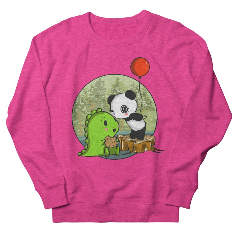 Cookies and Kisses Women's Sweatshirt by Dino & Panda Inc Artist Shop