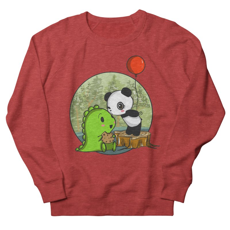 Cookies and Kisses Men's Sweatshirt by Dino & Panda Inc Artist Shop